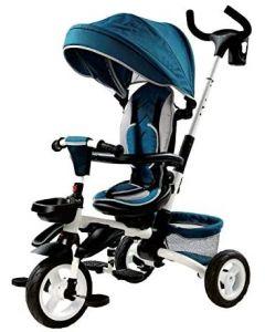 Triciclo Pieghevole Blu - Ferrera 20007