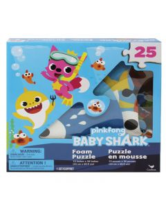 Baby Shark Puzzle Gommapiuma - 25 PZ