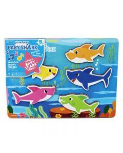 Baby Shark Puzzle Effetti Sonori - 5 PZ