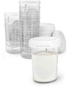 Suavinex Contenitori per Latte Materno 10pz