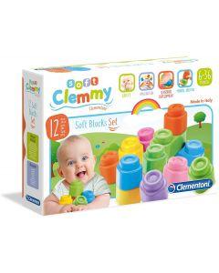 Clemmy Clementoni 14706 - Confezione 12 Mattoncini