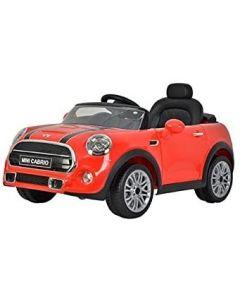 Auto elettrica Minicooper Cabrio 12 V Rossa - 38971