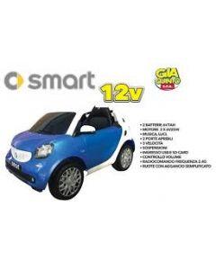 Auto Elettrica Smart 12 V Blu - GVC5322