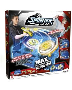 Rocco Giocattoli Spinner Mad Arena Deluxe Pack