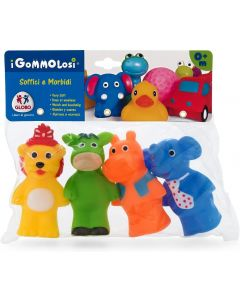 Globo 37245 - Vitamina G Gommolosi Animali in Piedi 4 Pezzi
