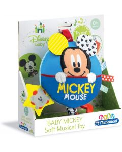Clementoni 17211 - Baby Clem Mickey Morbido Carillon