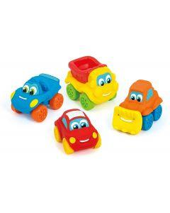 Clementoni 14099 - Baby Clem Macchinine Soft & Go Cars Modelli Assortiti