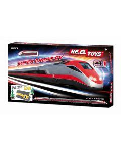 Re.El Toys 0324 - Treno Super AV con Accessori