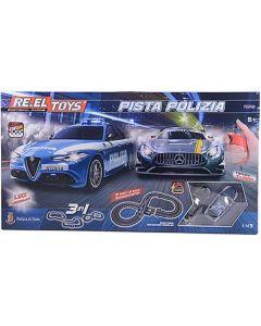 Re.El Toys 0906 - Pista Alfa Polizia 3 Metri
