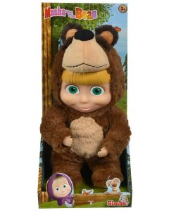 Simba Toys 109301064 - Masha Bambola 2 in 1 25 CM