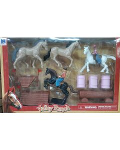 New Ray 37325SS - Valley Ranch Playset 3 Assortimenti