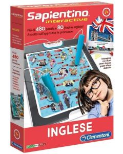 Sapientino Interactive - Inglese - Clementoni 16077