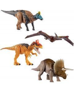 Mattel GJN64 - Jurassic World Attacco Sonoro Modelli Assortiti