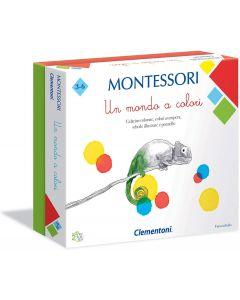 Sapientino Montessori - Un Mondo A Colori - Clementoni 16136