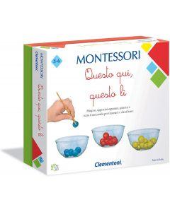 Sapientino Montessori - Questo Quì Questo Lì - Clementoni 16137