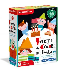 Sapientino - Forme E Colori In Festa - Clementoni 16147