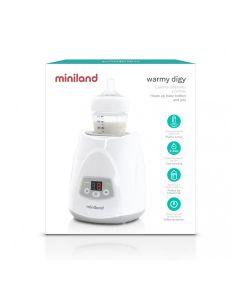 Miniland - Scaldabiberon Digitale Casa Warmy Digy