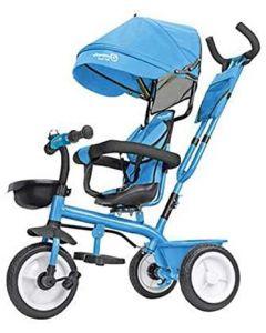 Triciclo in Metallo Vitamino Azzurro Globo 05385