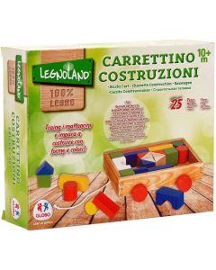 Legnoland Carretto Trainabile - Globo 36076