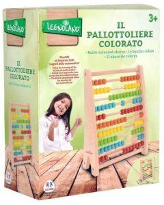 Legnoland - Pallottoliere In Legno 100 Grani - Globo 38912
