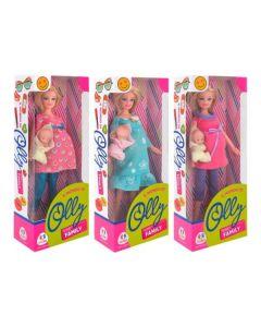 Bambola incinta di 29 cm con Bambino - Globo 39309