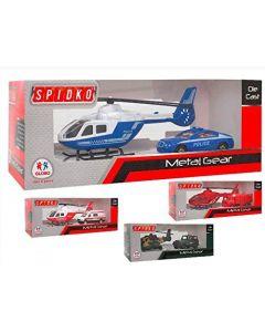 Auto ed Elicottero Forze Speciali - Globo 39414