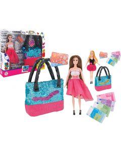 Fashion Doll con Borsetta e Accessori - Globo 39816