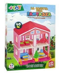 Casa delle Bambole 2 Piani C/Acc. - Globo 40355