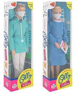 Fashion Doll Medico E Dott.ssa con mascherina - Globo 40428