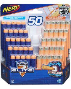 Nerf Ricarica da 50 Dardi Elite ed Accustrike - Hasbro C3543