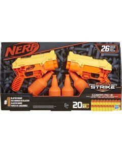 Nerf Alpha Strike 26 pezzi Cobra RC-6 Set-Include 2 Blaster