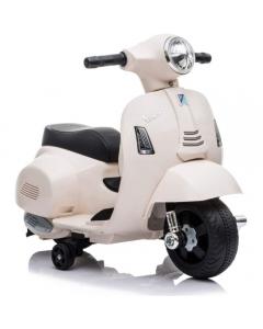 Moto Elettrica Mini Vespa 6V Bianca