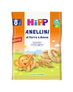 Hipp Snack Anellini Di Farro E Avena - 30 g