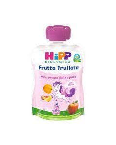 Hipp Frutta Frullata Unicorno Mela Prugna Gialla E Pesca - 90 Gr