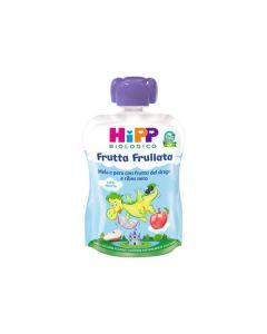 Hipp Frutta Frullata Pera E Mela Con Frutto Del Drago E Ribes Nero - 90 gr