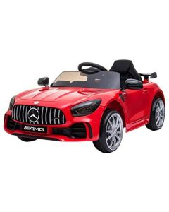 BKT Auto elettrica Mercedes AMG GT-R 12V (Rosso)