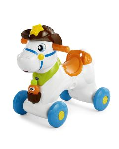 Chicco 7907 - Baby Rodeo, Cavallo a Dondolo