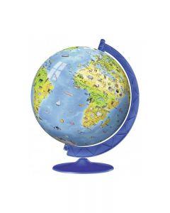 Ravensburger 12340 - Puzzle 3D Globo Geografico 180 pz