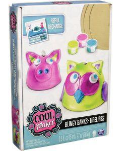 Cool Maker- Kit Argilla e Accessori Pottery Cool - Spinmaster 27886