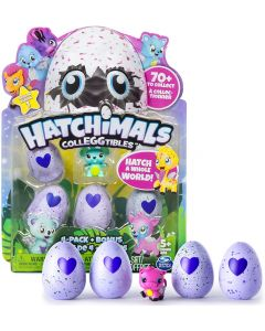 Hatchimals Collezionabile 4 pz Ass. - Spinmaster 34167