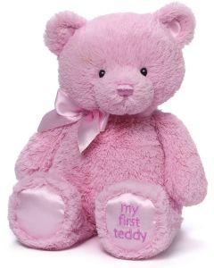 Gund il mio primo orsaccihotto rosa cm 38