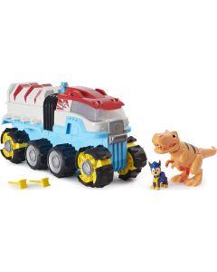 PAW Patrol, Dino Patroller veicolo motorizzato con Chase e T. Rex