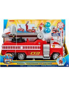 PAW Patrol, camion dei pompieri trasformabile di Marshall