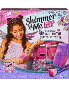 Cool Maker, Shimmer Me Body Art con rullo crea Tatoo