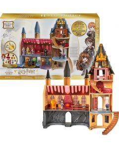 Castello di Hogwarts di Harry Potter, con 12 accessori, luci, suoni e bambola Hermione esclusiva - dai 5 anni