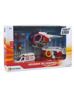 Playset Squadra dei Pompieri - Giocheria 90062