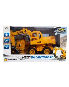 Fast Wheels - Mezzi da Cantiere Ruspa, Escavatore e Pala R/C - Giocheria 90099
