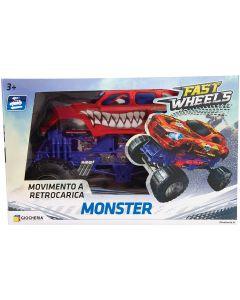 Monster Truck Retrocarica - GGI190123 - Modelli Assortiti