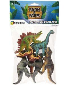 Giocheria GGI190247 - Busta 6 Dinosauri