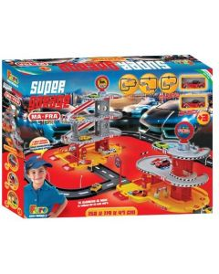 Super Garage con Garage e 2 Auto Incluse - Giocheria 00169